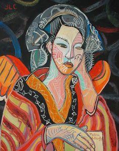 Madama Butterfly (Lidia Jevremovic) - Painting (Celeste Prize 2009)