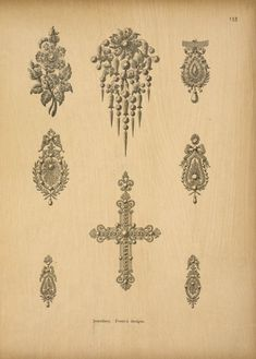 Pattern book for jewellers, gold- and silversmi...