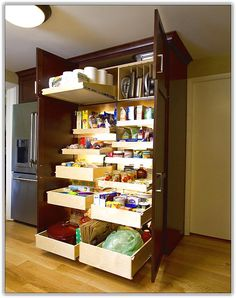Pantry Cabinet Organizers with Pantry Organization Systems Home Design  Ideas with Cheap Pantry Cabinets with Used