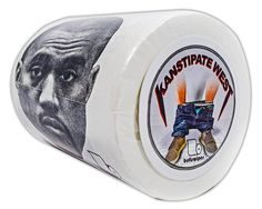 Buttswipes KANYE WEST Toilet Paper Funny Gag Gift Stocking Stuffer (Kanstipate West) *** Read more at the image link.