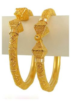 New 22k gold Intricate Bangles
