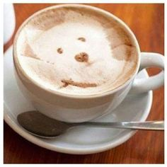 Westie latte,  Maggie you are everywhere!!