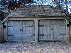 Carmel CA - storybook garages