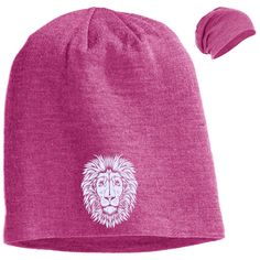 King of Beasts Slouch Beanie