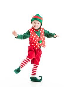 Toddler happy christmas elf costume christmas elf costume - Duendes navidenos disfraces ...