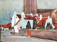 "Luc Tuymans ""Flemish Village"", 1995"
