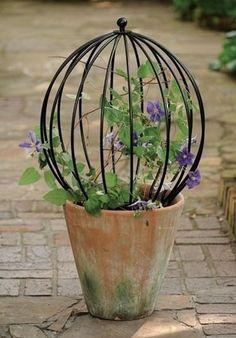 Garden Decor –topiary - All About Garden Urns, Garden Trellis, Garden Planters, Container Plants, Container Gardening, Indoor Planters, Topiary, Dream Garden, Yard Art
