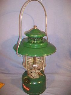 Coleman Dual Mantel Lantern Model 228E Dated 1-54 nice looking vintage find