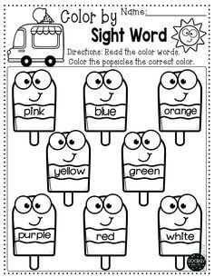 Transitional Kindergarten Summer Worksheets – Page 3