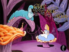 Disney at the movies....Alice and the Caterpillar