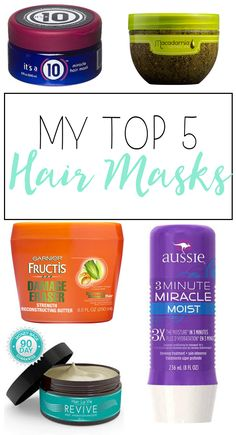 My Top 5 Hair Masks