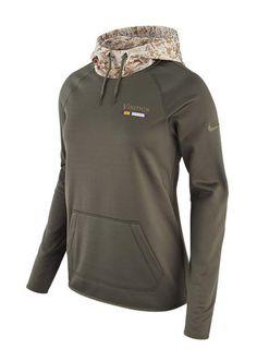 brand new 8782c 1f512 Nike Ladies Vikings Salute To Service Hooded Sweatshirt   Vikings Locker  Room