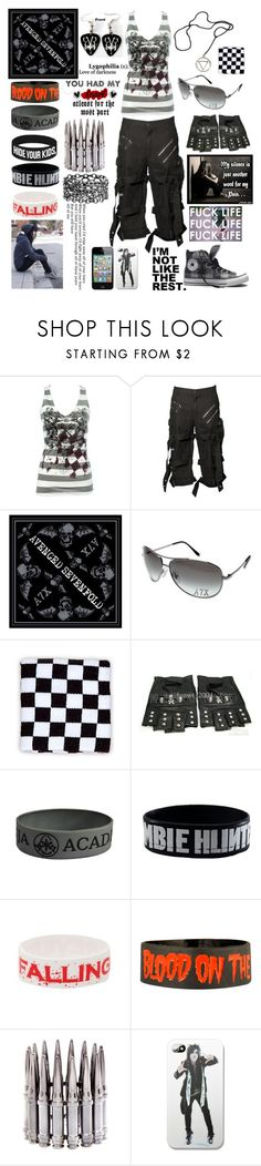 """""""The World I Once Dreamed Of Closes Up"""" by rukiakuchiki12341 ❤ liked on Polyvore featuring CARGO, Converse, Goodie Two Sleeves and HIDE"""