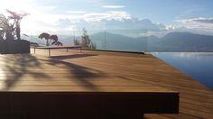 Deck elaborado en IPE, en la ciudad de Medellin- Colombia