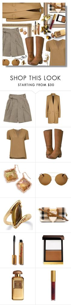 """""""TARTAN SHORTS!"""" by sarguo ❤ liked on Polyvore featuring Chloé, STELLA McCARTNEY, EGREY, Teva, Kendra Scott, Givenchy, Palm Beach Jewelry, Burberry, Tom Ford and Lipstick Queen"""