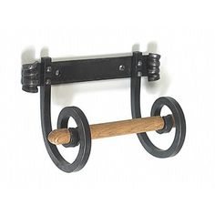 Wrought Iron Toilet Roll Holder (Monkey Tail Design) - Traditional Toilet Roll Holders - Toilet Roll Holders - Bathroom - Home Furnishings - Catalogue | Black Country Metal Works