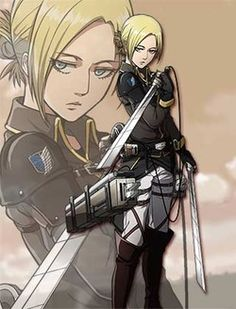 Attack on Titan Annie wings of counterattack - Google Search