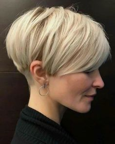 Stylish Short Haircuts, Short Haircut Styles, Short Pixie Haircuts, Girl Haircuts, Long Hair Styles, Style Short Hair Pixie, Girls Pixie Haircut, Short Pixie Bob, Blonde Pixie Haircut