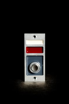 Modern Doorbell with Lighted Button