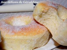 Beignets au four - Easy Cupcake Recipes, Donut Recipes, Snack Recipes, Easter Recipes, Churros, Malasadas Recipe, Beignet Recipe, Sweet Cooking, Baked Donuts