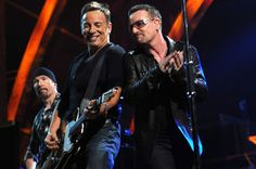 Bruce and Bono http://www.thefastertimes.com/music/2011/07/21/u2-live-review-bono-bows-at-the-altar-of-springsteen/#