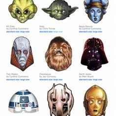 war mask, stars, starwar, masks, star wars, printabl star, parti idea, download mask, kid