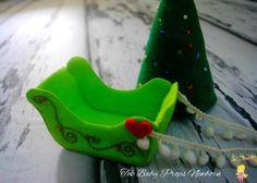 Treno do Papai Noel, Treno do Papai Noel de feltro, treno, feltro, felt