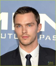 Nicholas Hoult.-- I want every guy with straight hair to cut it low. Just like this.  That is all