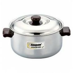 This Stainless Steel Casserole is made from very high quality stainless steel raw material which ensures high durability at its user end.