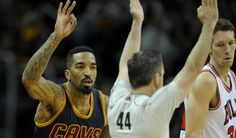 Cavs' J.R. Smith takes NBA record 17 3-pointers and no 2s