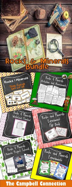 Rocks and Minerals Unit Bundle!