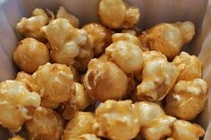 Baked Caramel Corn Fantastic just like the County Fairs!