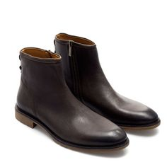ANKLE BOOT WITH ZIP from Zara