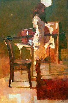 Fiona's cello