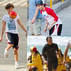 First HQ pictures of football Louis, then skater Louis and now surfer Louis. :)
