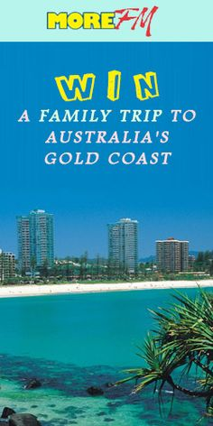#RePin and #Win a Family Trip to Australia's Gold Coast! #travel #vacation