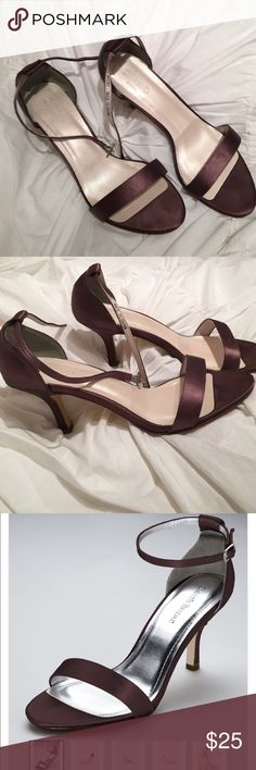 Davids Bridal Truffle Heels Davids Bridal heels in Truffle color. Worn once. Great condition. David's Bridal Shoes Heels