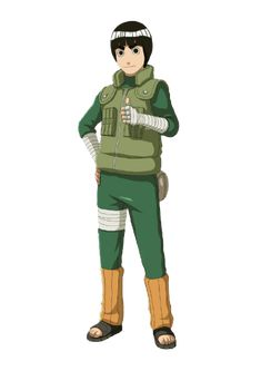 Rock Lee || my favorite Naruto character. Maybe it's because he feels more 'real' than everyone else with all their gifts.