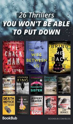 26 Thriller Books We Couldn't Put Down This Year Spine-tingling and page-turning! These are the best thriller books of 2018 — don't blame us if you sleep with the lights on! 26 Thriller Books We Couldn't Put Down This Year Book Club Books, Book Nerd, Book Lists, My Books, Great Books, Reading Books, Book Suggestions, Book Recommendations, Good Thriller Books