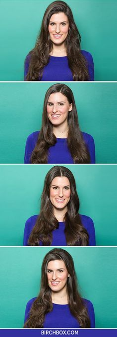 Here's how much the way you part your hair can really transform your overall look!