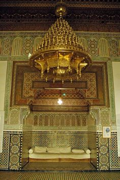 Morocco ~ Museum of Marrakesh ~ Spectacular brasswork, intricate tessellations. Moroccan Design, Moroccan Style, Travel Around The World, Around The Worlds, Eastern Countries, Ethnic Decor, Asian Design, Morocco Travel, Arabian Nights