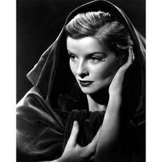 Katharine Hepburn Canvas Art - (16 x 20) Old Hollywood Glamour, Golden Age Of Hollywood, Vintage Hollywood, Hollywood Stars, Classic Hollywood, Old Hollywood Actresses, Katharine Hepburn, Divas, Classic Actresses