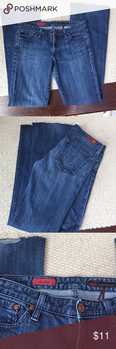 """AG 'The Club' jeans. AG ' the club' jeans size 30 and 31"""" inseam. Gently worn and hem has been cut. AG Adriano Goldschmied Jeans Boot Cut"""