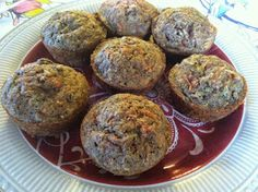 """""""Point-less"""" Meals: Zucchini- Carrot Muffins"""