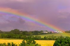 Rainbow on the Road to Dublin - Photograph at BetterPhoto.com