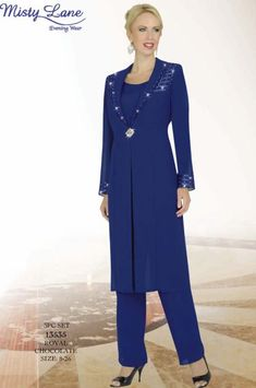 Misty Lane 13535 by Ben Marc 3pc Pant Suit for Mothers of the Wedding at frenchnovelty.com $97.00