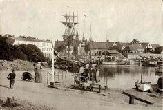 svaneke, bornholm, denmark 1890ties