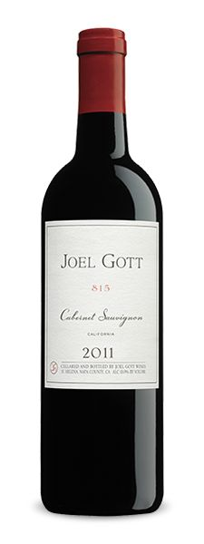 2011 Joel Gott Cabernet Sauvignon - Powerful, fruit forward, spicy, wonderful bottle I keep coming back to. TASTE Score: 93