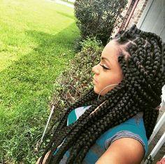 21 Best Jumbo Box Braids Hairstyles