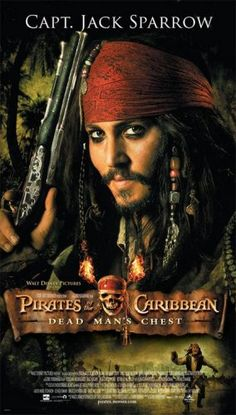 #PiratesOfTheCaribbean - #DeadMansChest (2006) - #CaptainJackSparrow